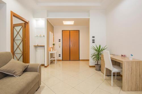 A seating area at La Casa di Genella