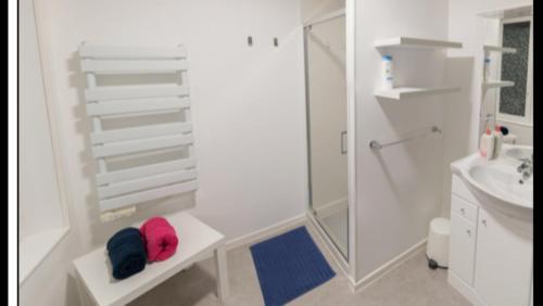 A bathroom at Bel appartement au coeur du centre historique