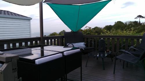 Balcon ou terrasse dans l'établissement L'Horizon