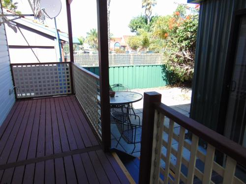 A balcony or terrace at Fremantle Village
