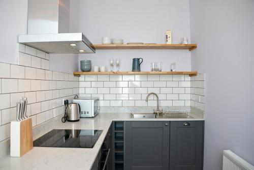 A kitchen or kitchenette at Seaview