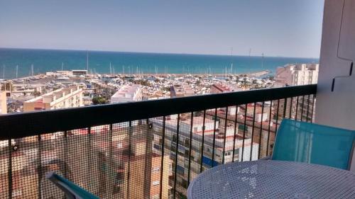 Un balcón o terraza de Marenostrum view