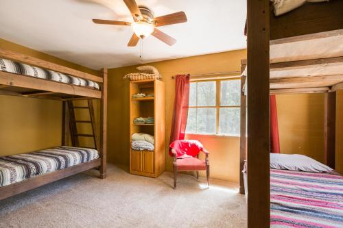 A bunk bed or bunk beds in a room at Crown King Bunkhouse