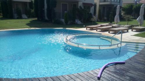 The swimming pool at or close to Naiades Villas