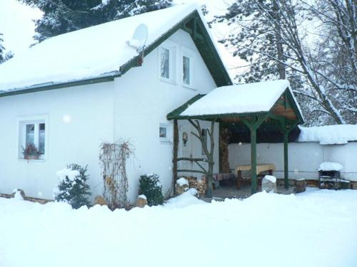 Chata Bešeňová v zimě