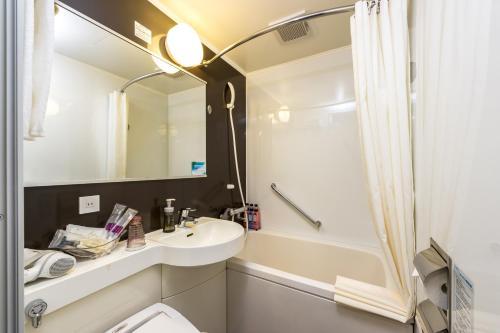 A bathroom at Hotel Keihan Asakusa
