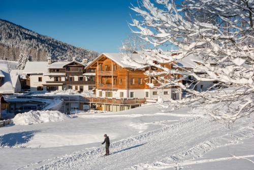 Chalet Rudana during the winter