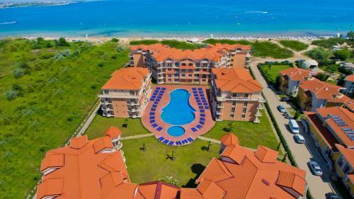 Гледка от птичи поглед на Touristic Complex Hacienda Beach Apartments Sozopol