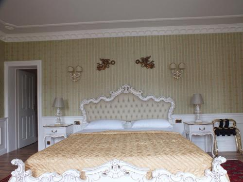 Кровать или кровати в номере Villa-Angelina