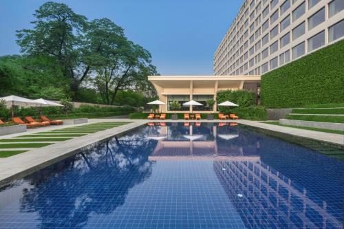 The swimming pool at or near The Oberoi New Delhi