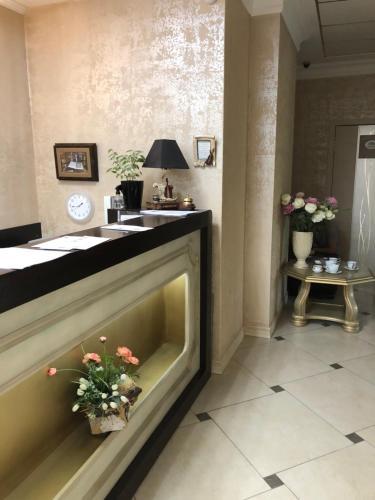 Лобби или стойка регистрации в Бутик Отель Дворянское Гнездо