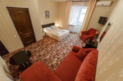 Гостиная зона в Челси Отель