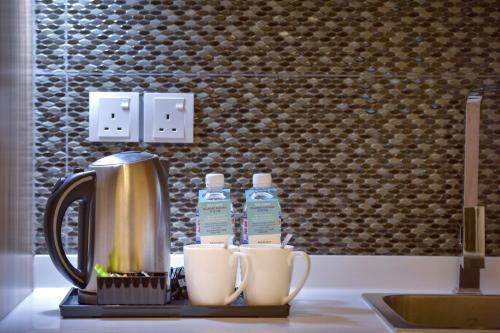 Coffee and tea-making facilities at Mercure Kota Kinabalu City Centre