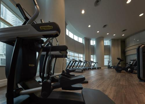 The fitness center and/or fitness facilities at JW Marriott Kuala Lumpur