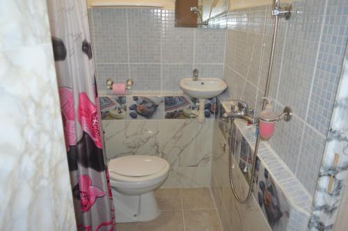 Salle de bains dans l'établissement Résidence Plocus