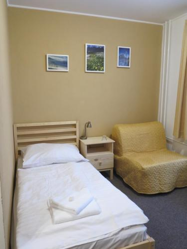 Posteľ alebo postele v izbe v ubytovaní Penzion Zornicka