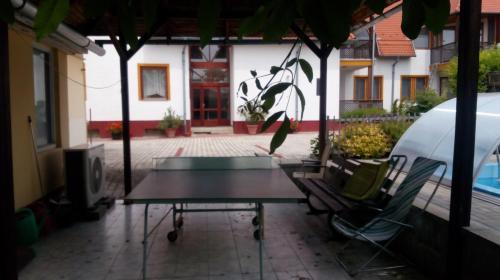 Apartman Klaudia ping-pongozási lehetőségei