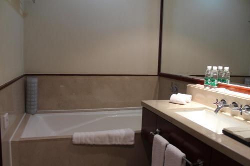 حمام في فندق دايسن العالمي
