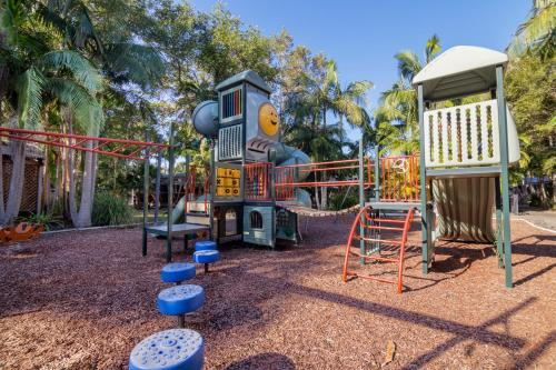 Children's play area at Angourie Resort