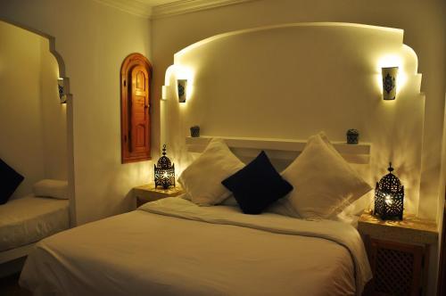 Un ou plusieurs lits dans un hébergement de l'établissement Al Alba