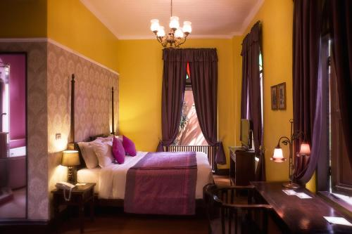 Letto o letti in una camera di Praya Palazzo