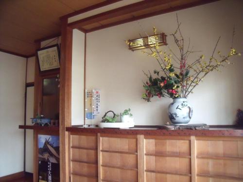 The lobby or reception area at Asahikan