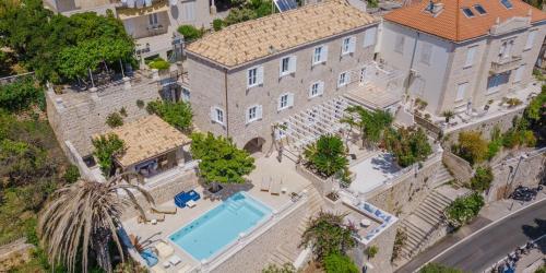 A bird's-eye view of Villa Beba Dubrovnik - luxury boutique villa in the city centre