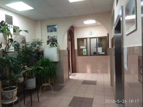 The lobby or reception area at Luzniki Riadom Appartment