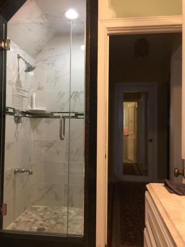 A bathroom at friendly home