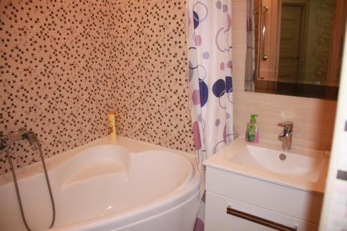 Ванная комната в Apartment on Nahimova 40