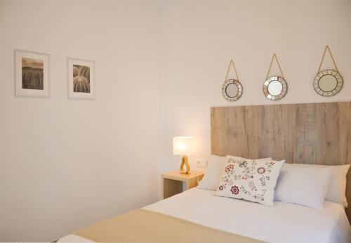 Cama o camas de una habitación en Apartamento Faustino Alvarez