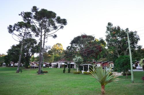 Um jardim em Park Hotel Mantiqueira