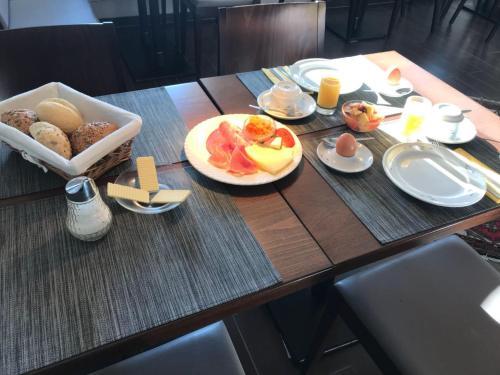 Frühstücksoptionen für Gäste der Unterkunft Am Schleieck