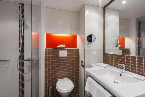A bathroom at Best Western Hotel Bamberg