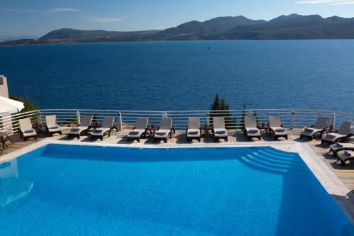 The swimming pool at or near Adriatica Hotel