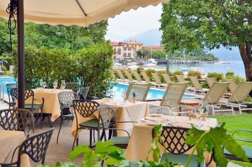 The swimming pool at or near Grand Hotel Menaggio