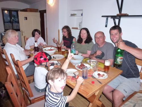 Семья в Chalupa U Hovorků