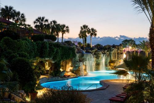 The swimming pool at or near Hyatt Regency Grand Cypress Disney Area Orlando
