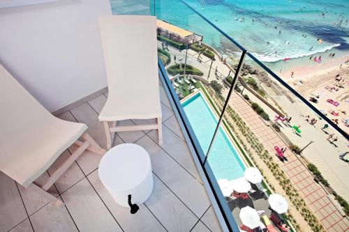 A balcony or terrace at Son Moll Sentits Spa - Adults Only