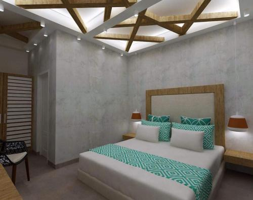 A bed or beds in a room at Avanti