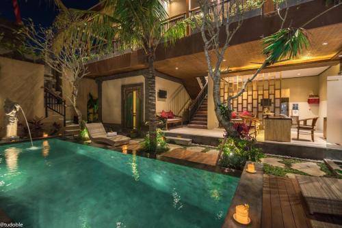 The swimming pool at or near Bliss Ubud Abangan