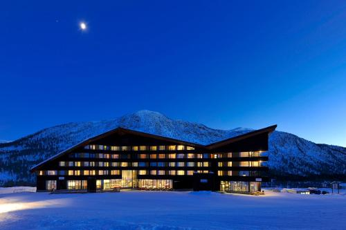 Myrkdalen Resort Hotel im Winter