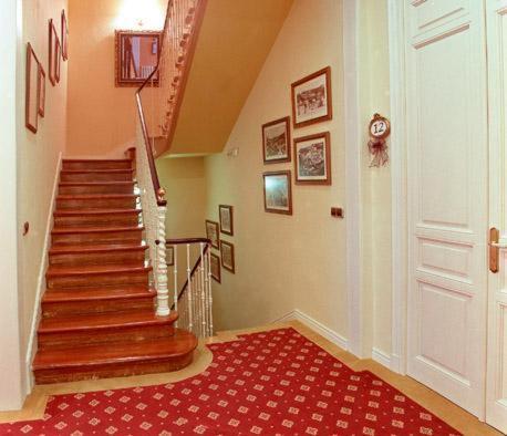 El vestíbulo o zona de recepción de Hotel Villa de Luarca