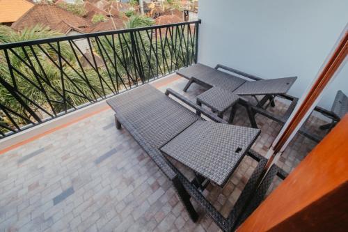 A balcony or terrace at Kaen Apartments