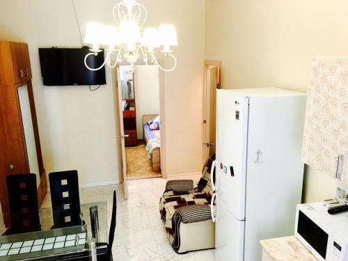 Телевизор и/или развлекательный центр в Apartments Gorkogo 21