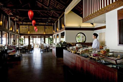 Restaurant ou autre lieu de restauration dans l'établissement Evason Ana Mandara Nha Trang