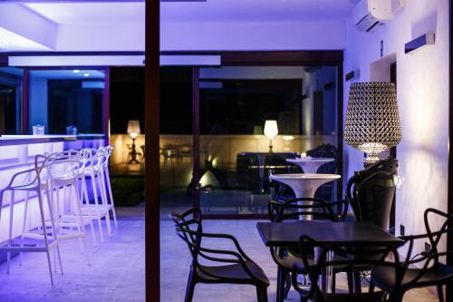 A restaurant or other place to eat at Corte Ongaro Hotel