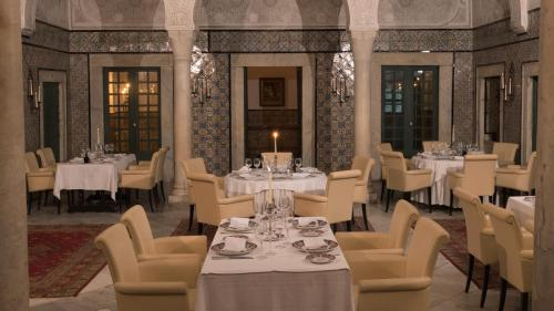 A restaurant or other place to eat at Dar El Jeld Hotel and Spa