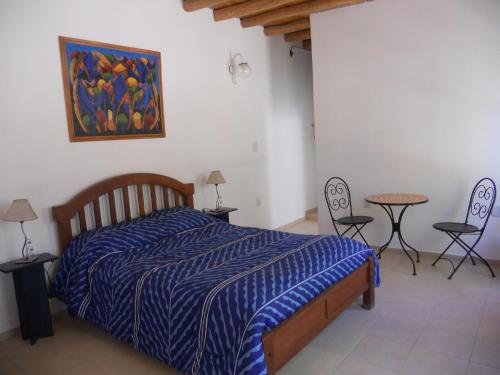 Una cama o camas en una habitación de La Casa de Feli