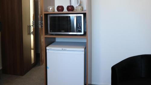 A television and/or entertainment center at Trivelles Mayfair